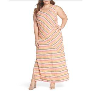 Caslon Nordstrom Women's Maxi Dress Stripe A-line